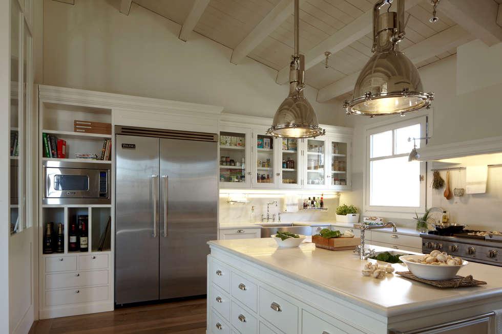 Fotos de decoraci n y dise o de interiores homify - Cocinas con frigorifico americano ...