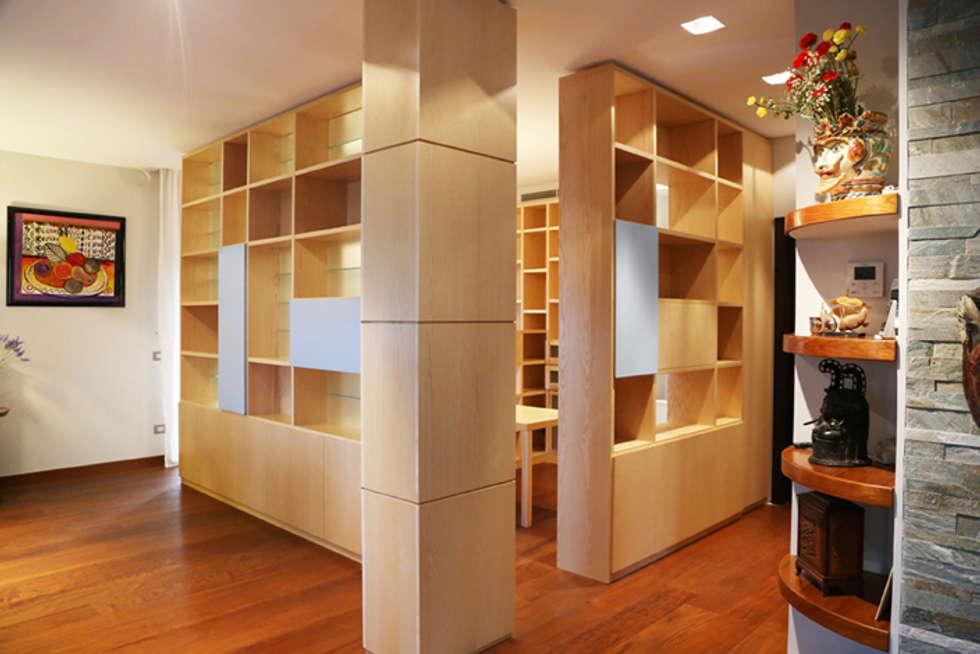 moderne Studeerkamer/kantoor door MAT architettura e design