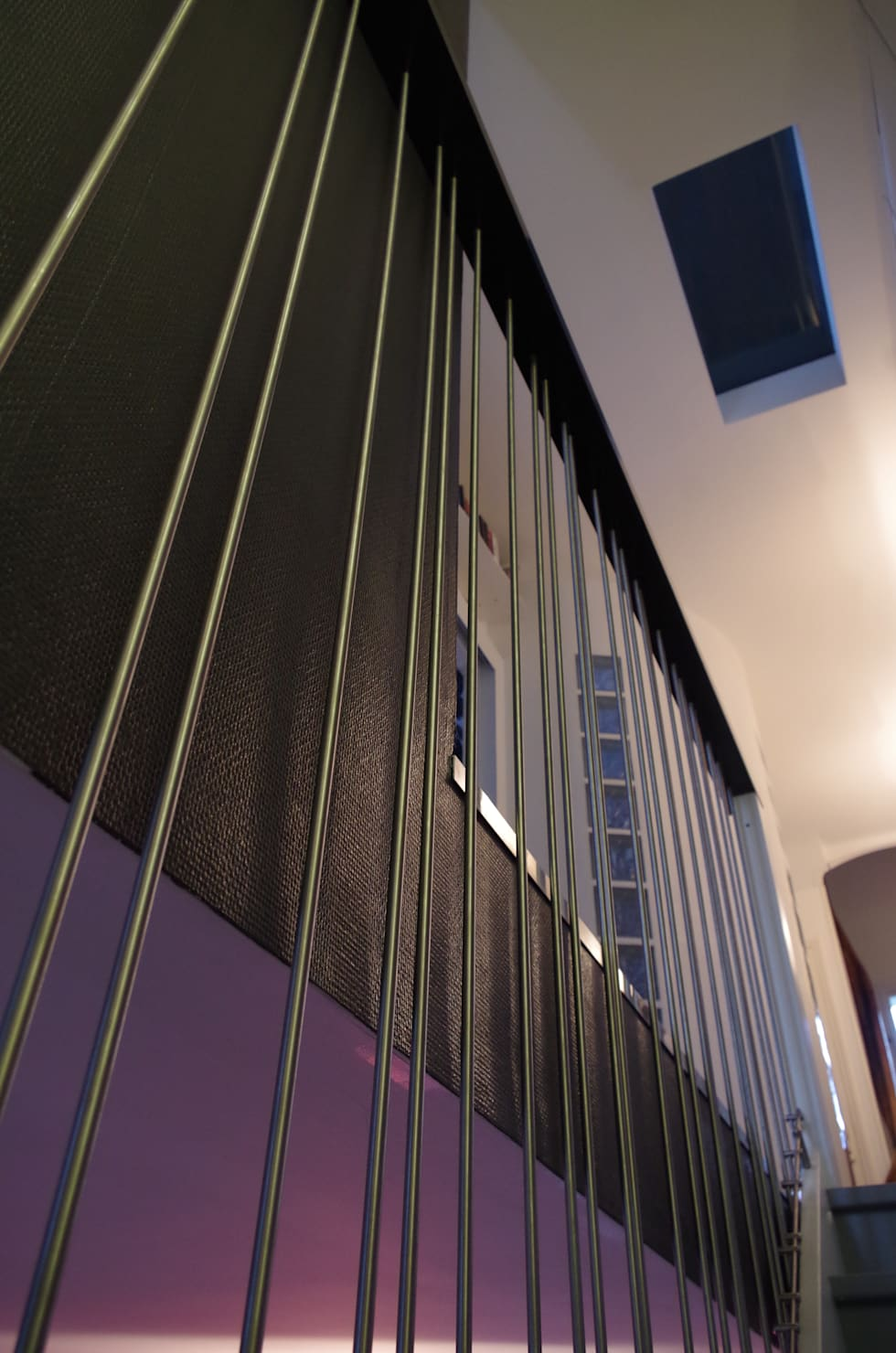 Garde-corps: Couloir et hall d'entrée de style  par Christèle BRIER Architechniques