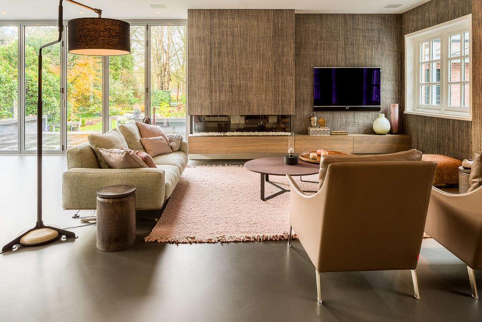 Designgietvloer in een sfeervolle woonkamer www.designgietvloer.nl ...