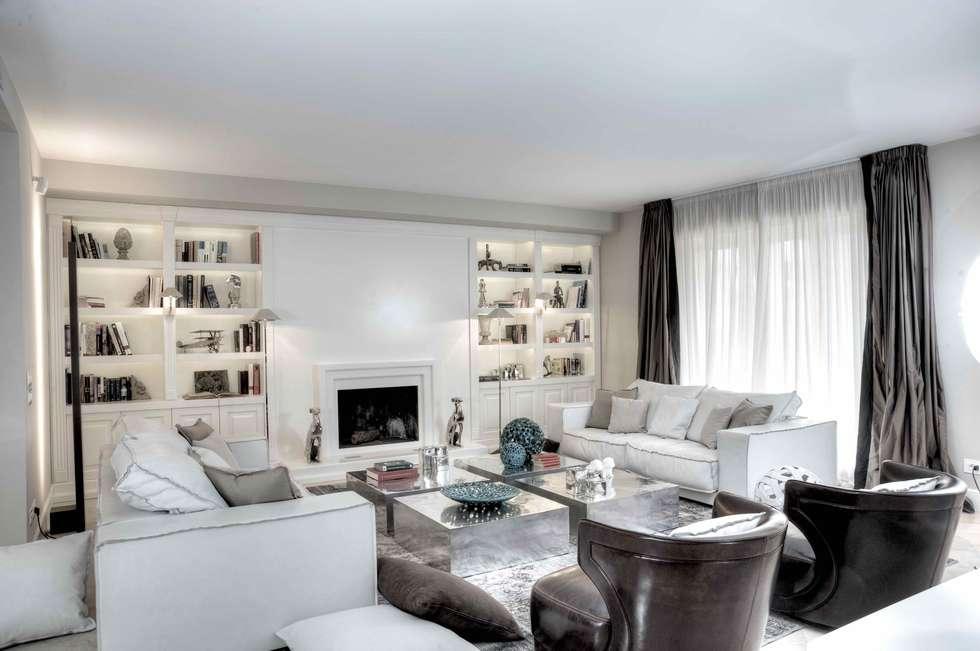 Salotto Moderno Con Camino E Veranda Interior Design : Idee arredamento casa interior design homify