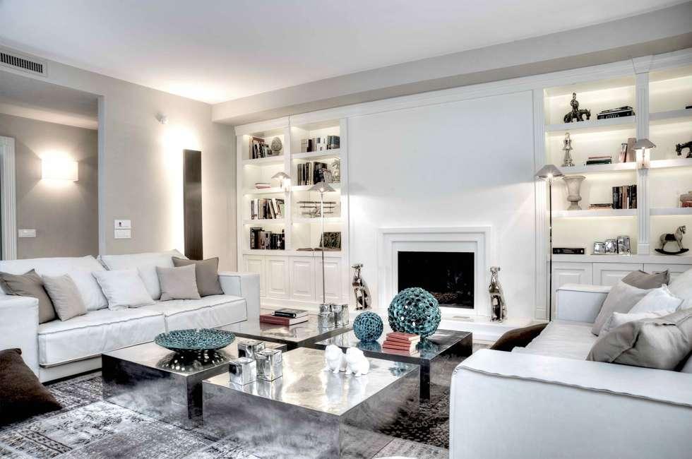 Idee arredamento casa interior design homify for Salotto con camino arredamento
