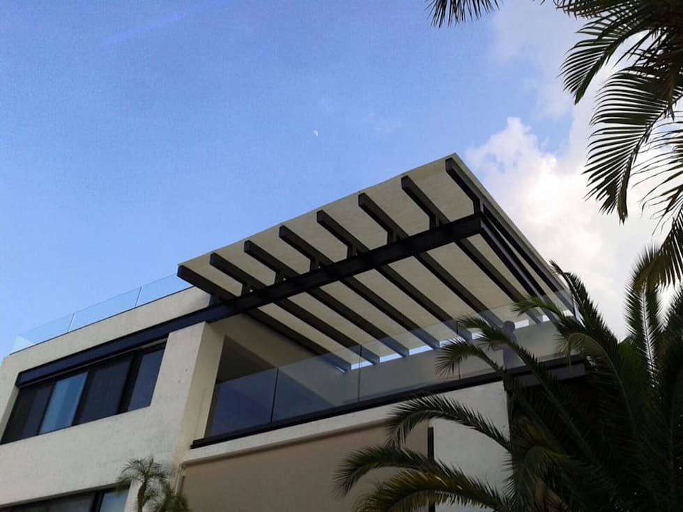 Domo: Casas de estilo moderno por HO arquitectura de interiores