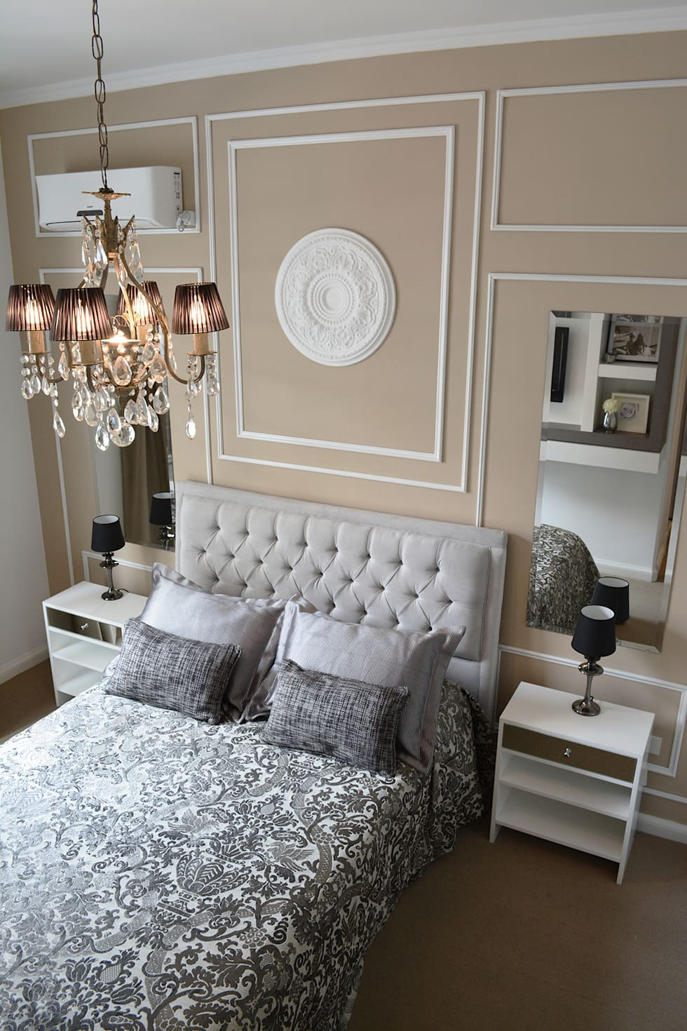 Remodelaci n dormitorio estilo franc s dormitorios de for Casas estilo frances clasico