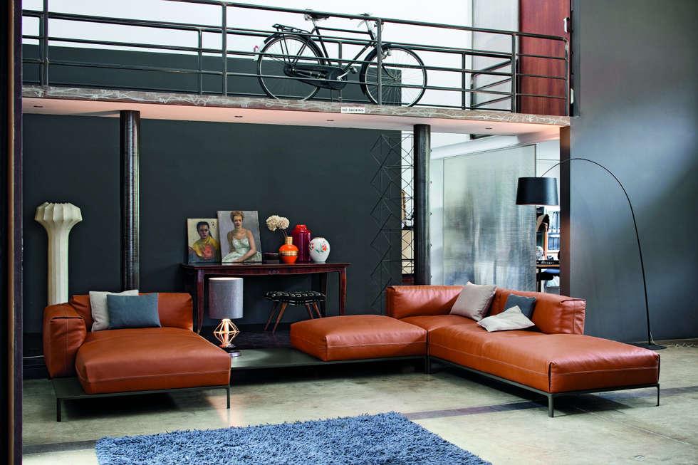 industriale wohnzimmer von imago design homify. Black Bedroom Furniture Sets. Home Design Ideas