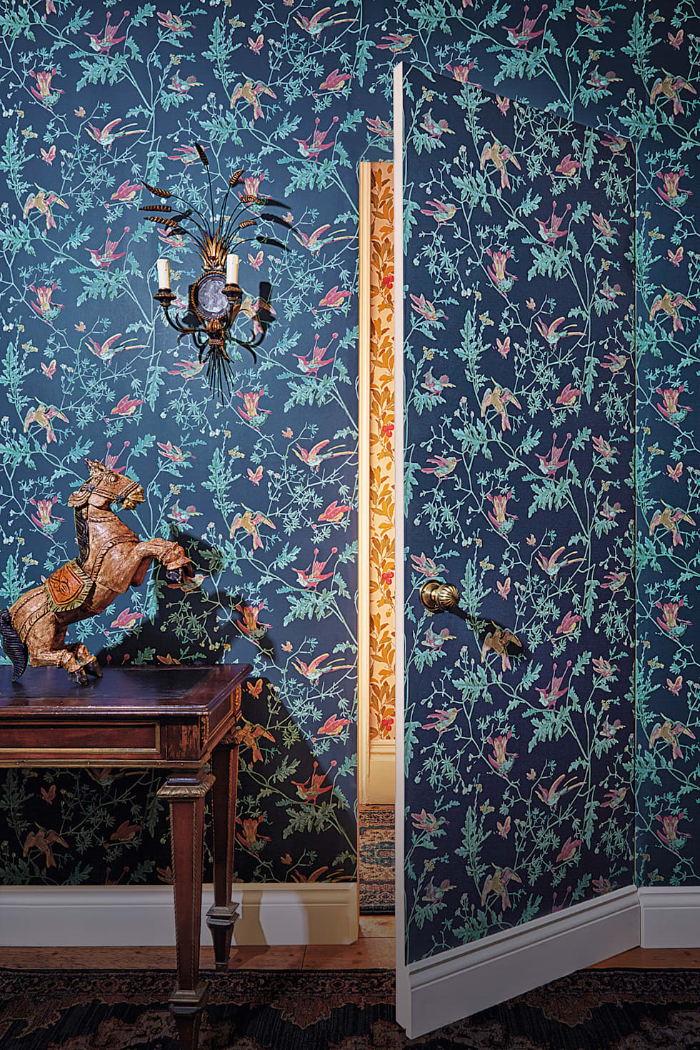 Hummingbirds:  Walls & flooring by Cole & Son