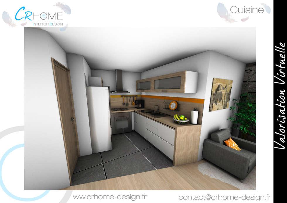 Cuisine: Cuisine de style de style Moderne par Crhome Design