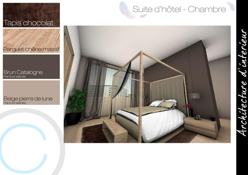 Chambre: Chambre de style de style Scandinave par Crhome Design