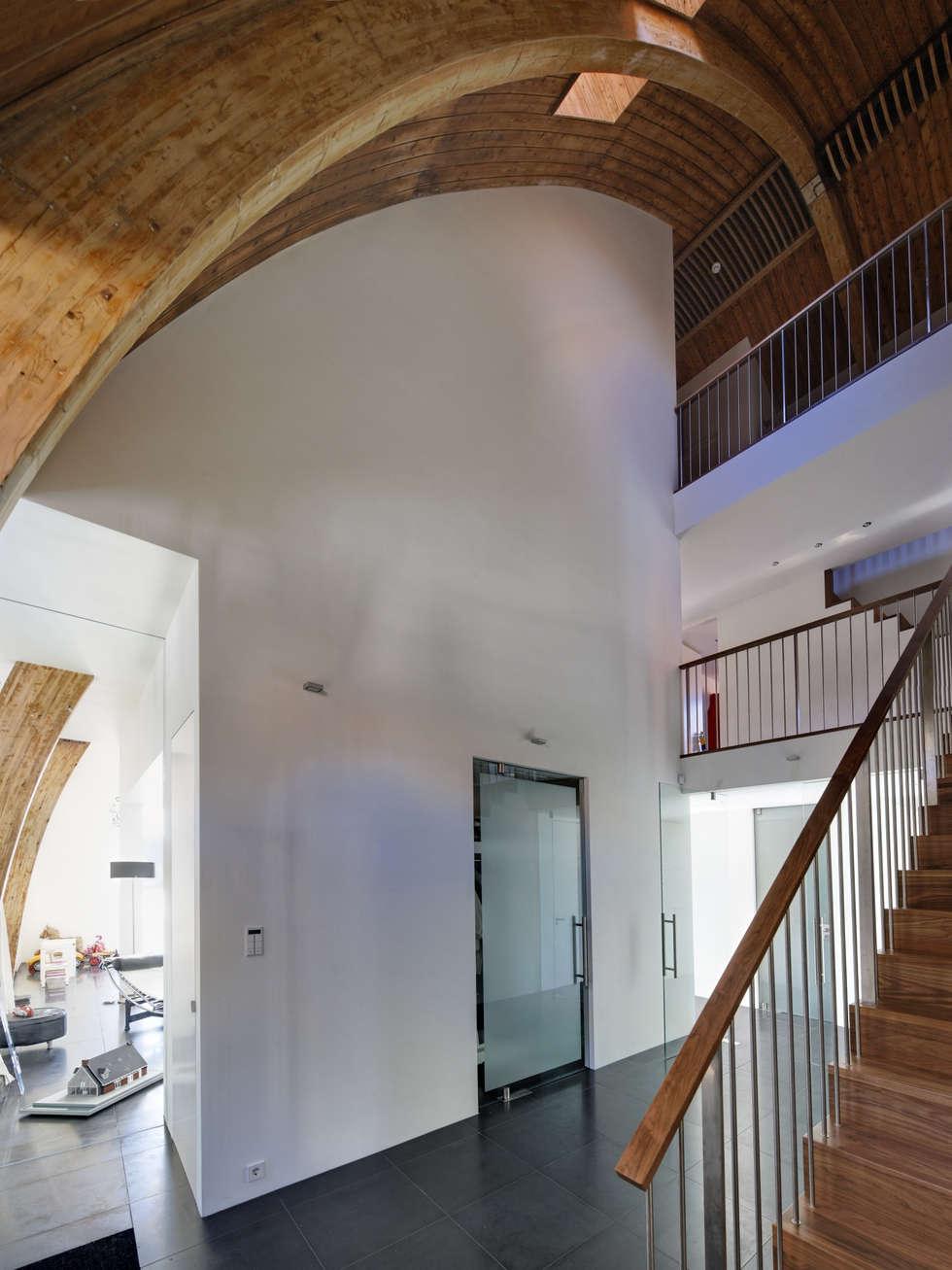 Interieur:  Gang en hal door Ruud Visser Architecten