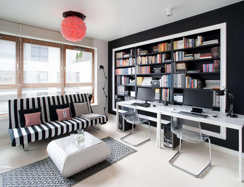 Mieszkanie: styl , w kategorii Salon zaprojektowany przez Sic! Zuzanna Dziurawiec