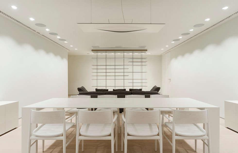 ST. REGIS 2301: Comedores de estilo moderno por TENTER Arquitectura y Diseño