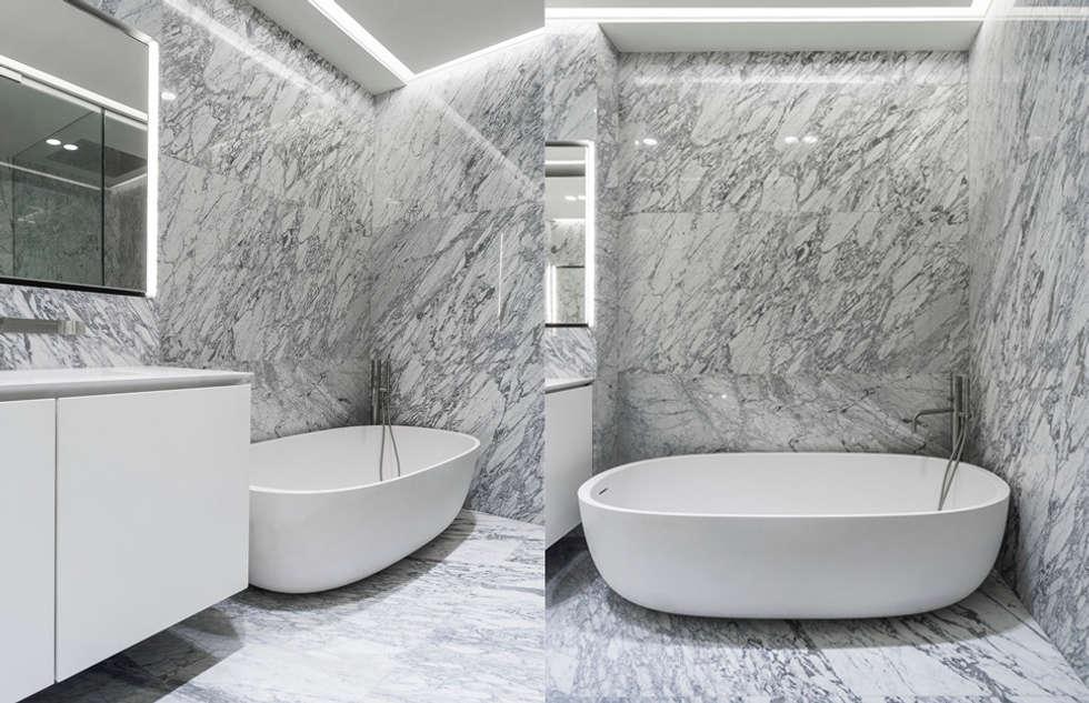 ST. REGIS 2301: Baños de estilo  por TENTER Arquitectura y Diseño
