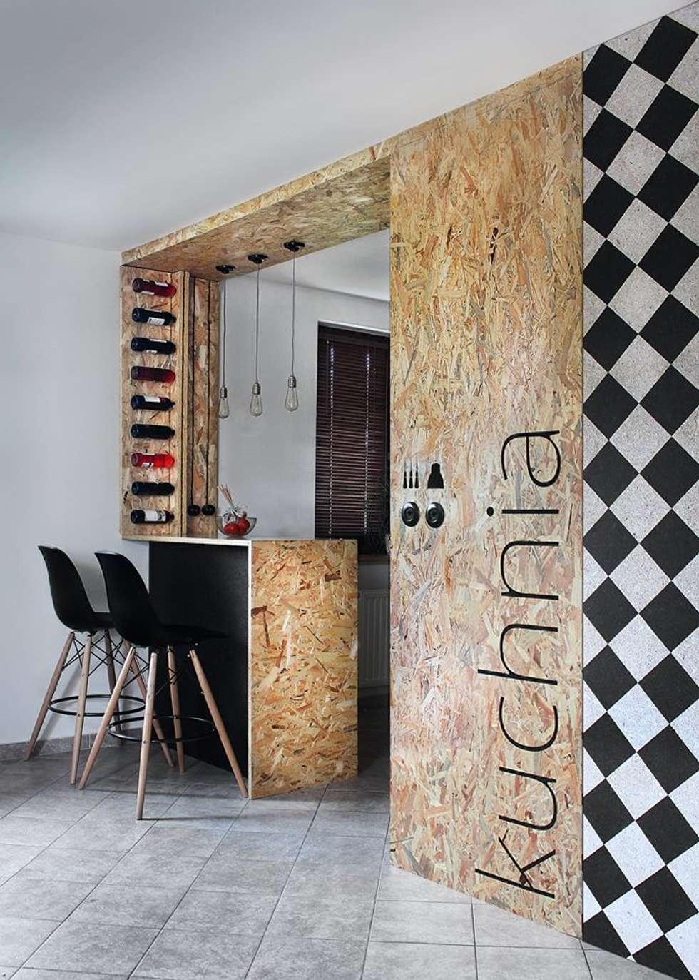 realizacja kuchni: styl , w kategorii Kuchnia zaprojektowany przez kreARTywni_ studio projektowe