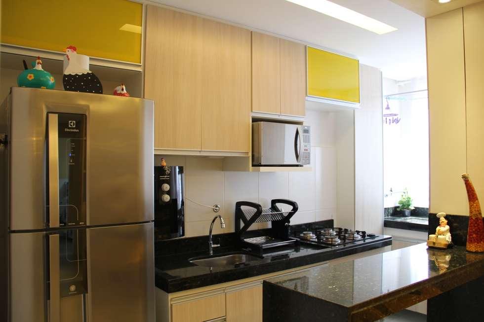 Cocinas de estilo moderno por donakaza homify for Cocina estilo moderno
