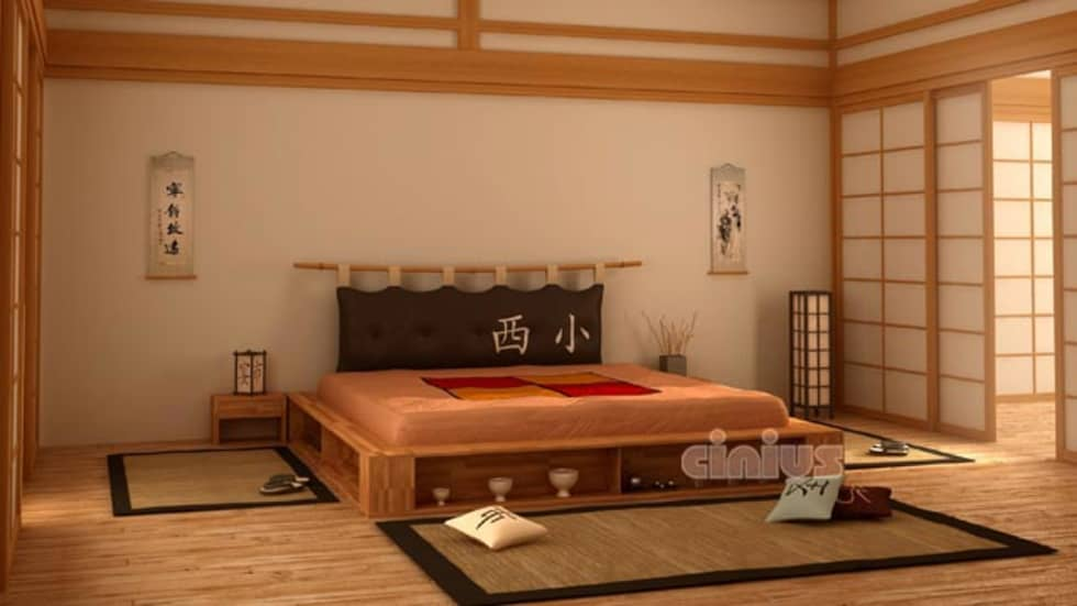 Idee arredamento casa interior design homify - Letto giapponese ...
