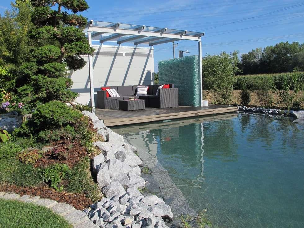 Podest über Wasser Mit Beleuchtung: Moderner Garten Von Hammer U0026 Margrander  Interior GmbH