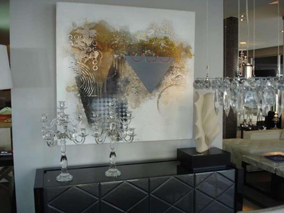 espacios con arte: Comedores de estilo clásico por Daniel Vidal