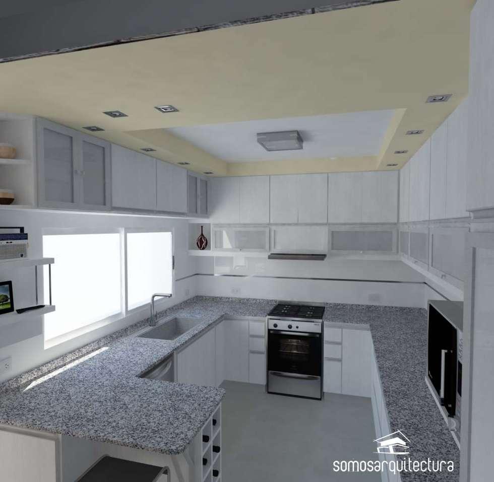 Proyecto de reforma en cocina lavadero cocinas de for Diseno lavadero