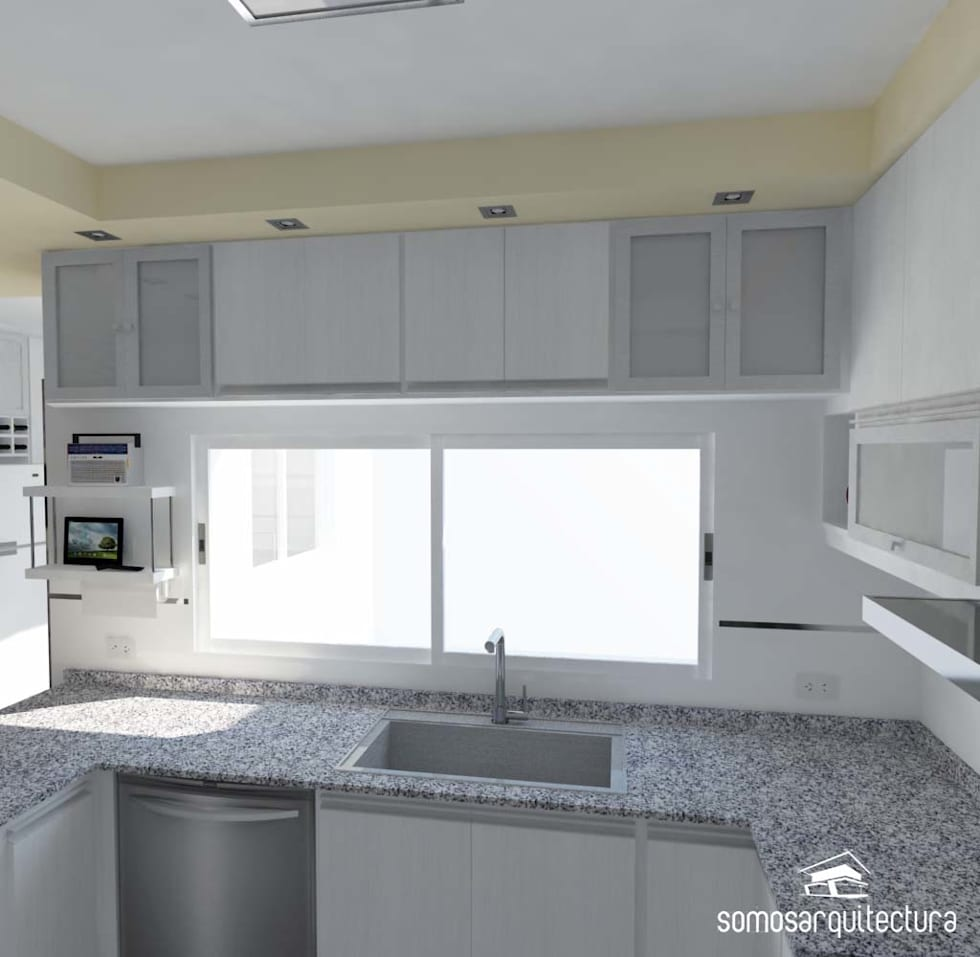 Proyecto de reforma en cocina lavadero cocinas de for Lavaderos de cocina