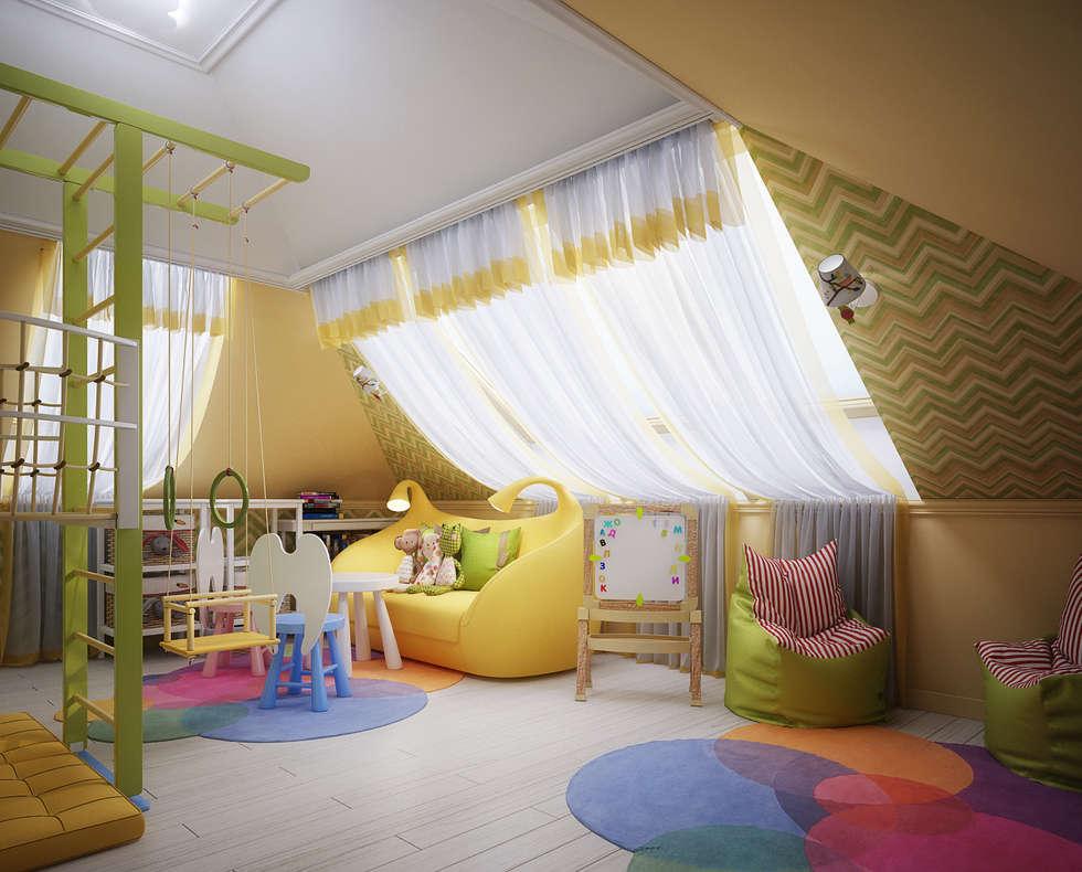 Chambre d'enfant de style de style Classique par Инна Михайская