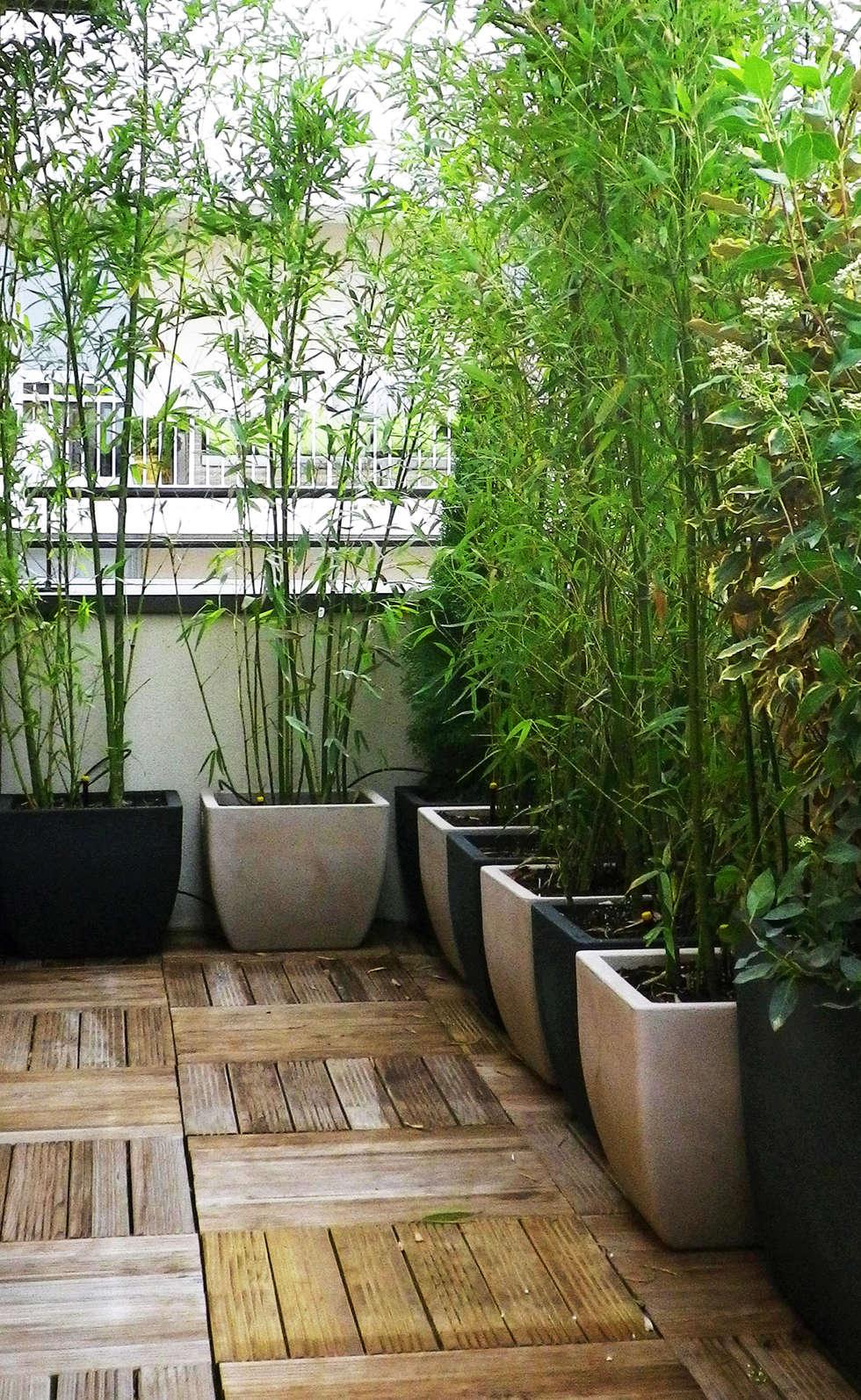 Dans un esprit naturel et original: Jardin de style de style Minimaliste par Skéa Designer