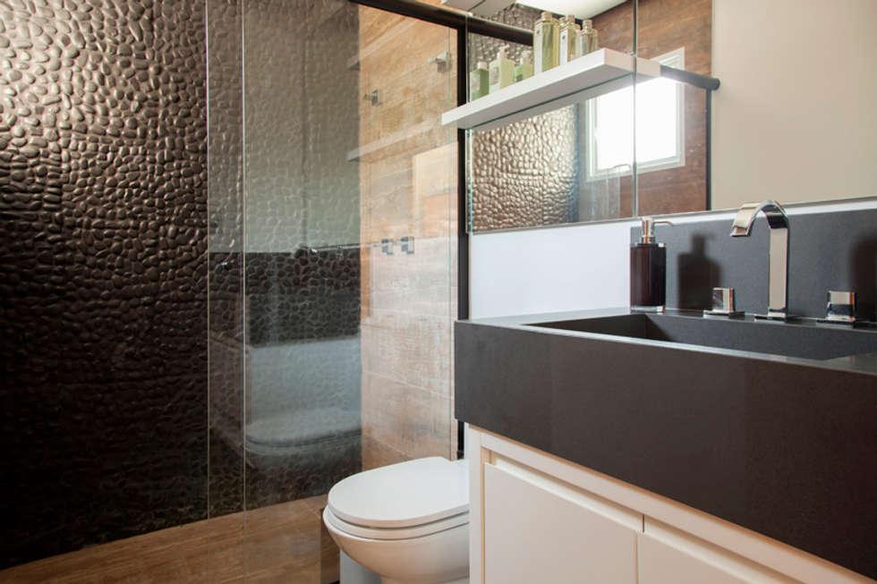 Fotos de banheiros modernos banheiro – proprietário  homify -> Meu Banheiro Moderno