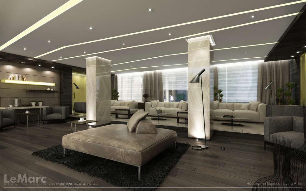 Meeting Area: Hoteles de estilo  por Estudio JP