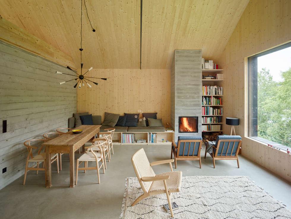 Moderne Wohnzimmer Bilder: Haus am Thurnberger Stausee | homify