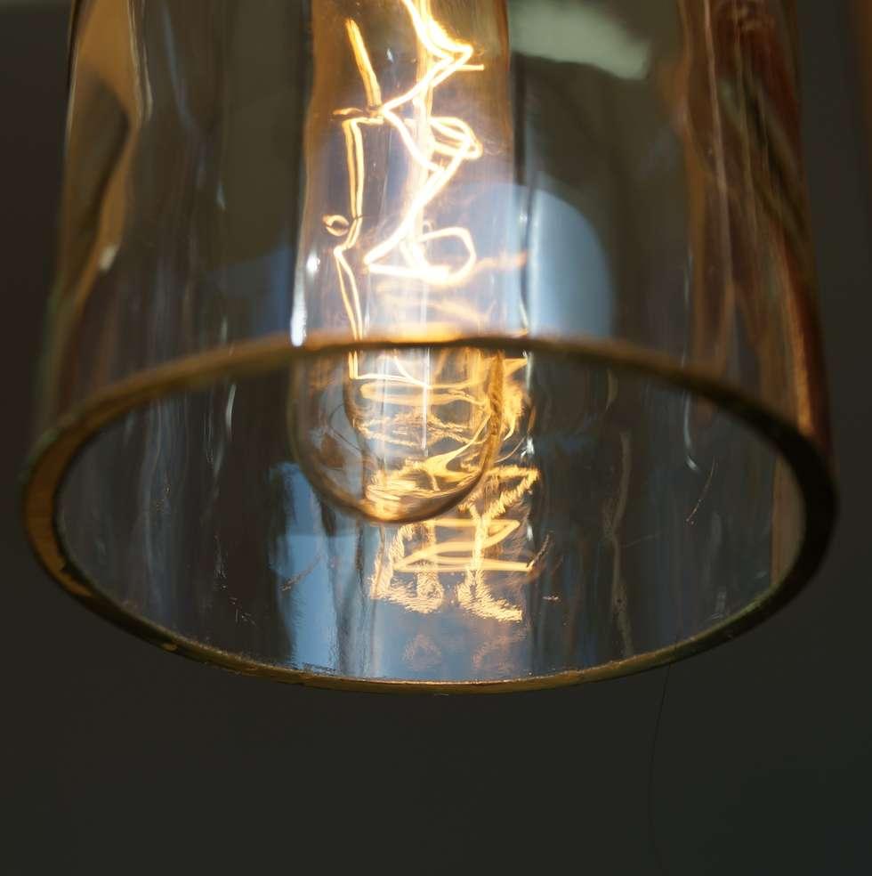 """Faszinierend Ausgefallene Deckenlampen Referenz Von Vintage Hängelampe, Deckenlampe """"tres"""": Esszimmer Von Uniikat.de"""