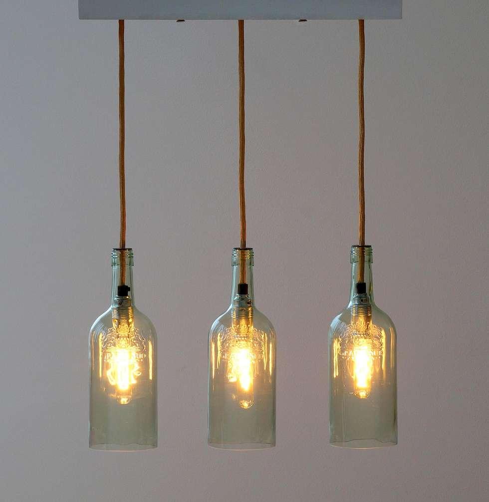 """Fesselnde Ausgefallene Deckenlampen Ideen Von Vintage Hängelampe, Deckenlampe """"tres"""": Wohnzimmer Von Uniikat.de"""