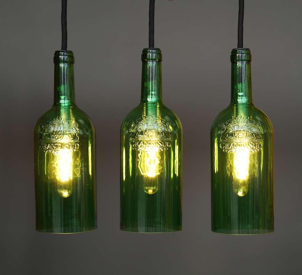 """Sympathisch Ausgefallene Deckenlampen Ideen Von Vintage Hängelampe, Deckenlampe """"tres"""": Esszimmer Von Uniikat.de"""