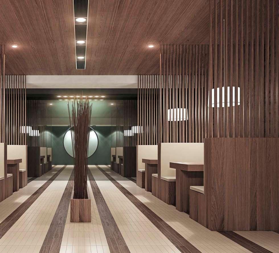 shade: Sala da pranzo in stile in stile Moderno di Cer Vogue