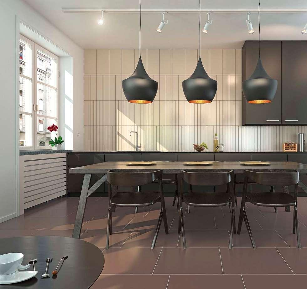 Shade: Cucina in stile in stile Moderno di Cer Vogue