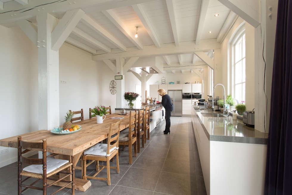 foto's van een moderne keuken prachtige moderne boerderij keuken, Meubels Ideeën