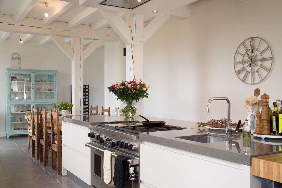 Foto's van een moderne keuken: prachtige moderne boerderij keuken ...