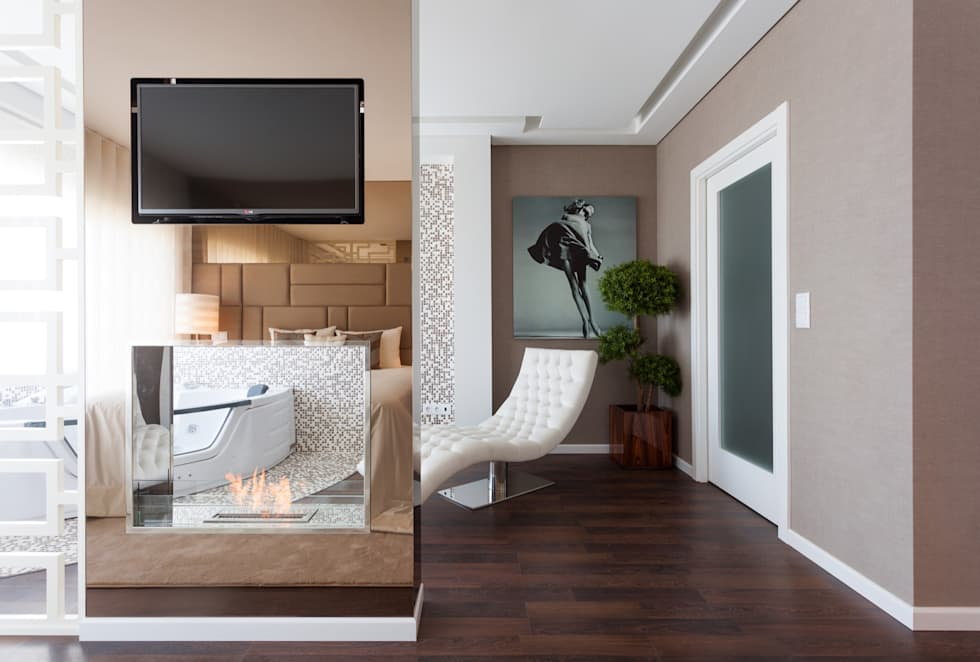 modern Bedroom by Movelvivo Interiores