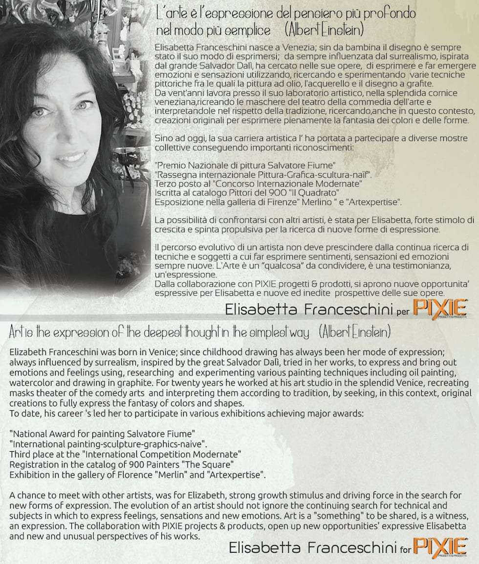 """collezione """"ecco_la_betty"""", Elisabetta Franceschini per PIXIE progetti & prodotti.: Pareti in stile  di PIXIE progetti e prodotti"""