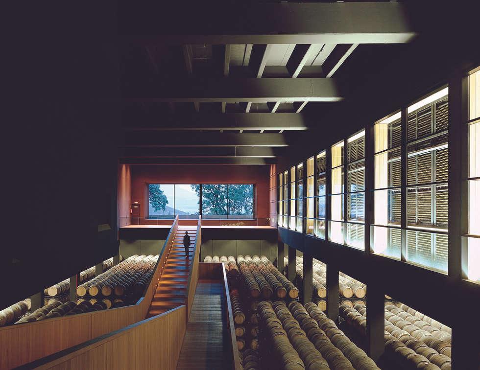 Bodegas de estilo minimalista por Ignacio Quemada Arquitectos