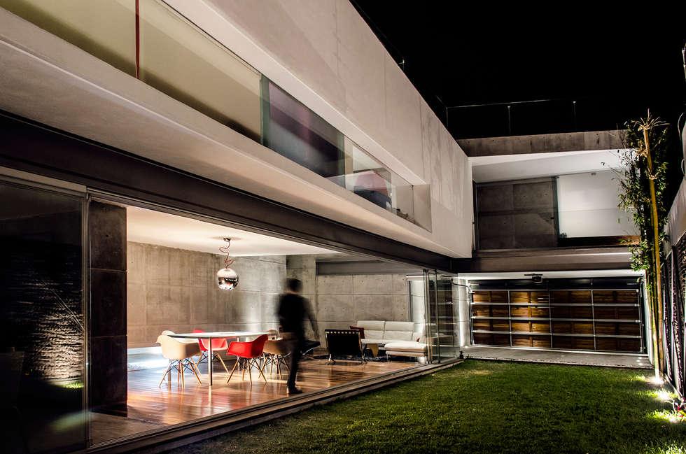 Casa Xafix / Arkylab: Jardines de estilo moderno por Oscar Hernández - Fotografía de Arquitectura