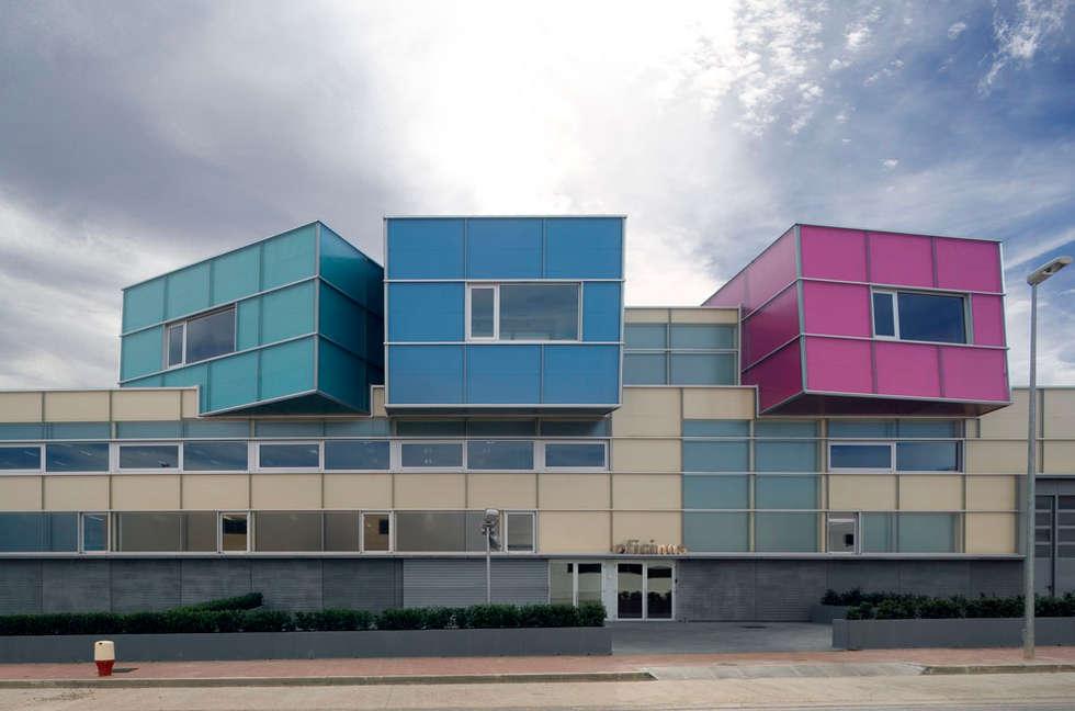Casas de estilo minimalista por Ignacio Quemada Arquitectos