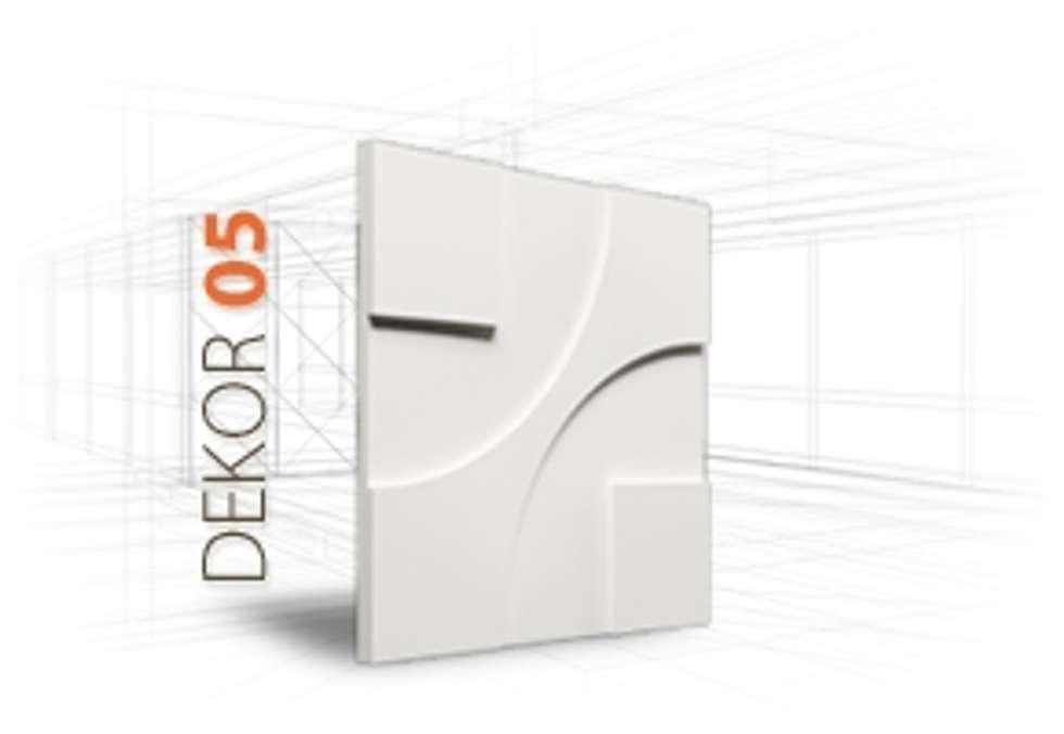 Panele gipsowe 3D Loft Design System, Dekory 1-10: styl , w kategorii Ściany zaprojektowany przez DecoMania.pl