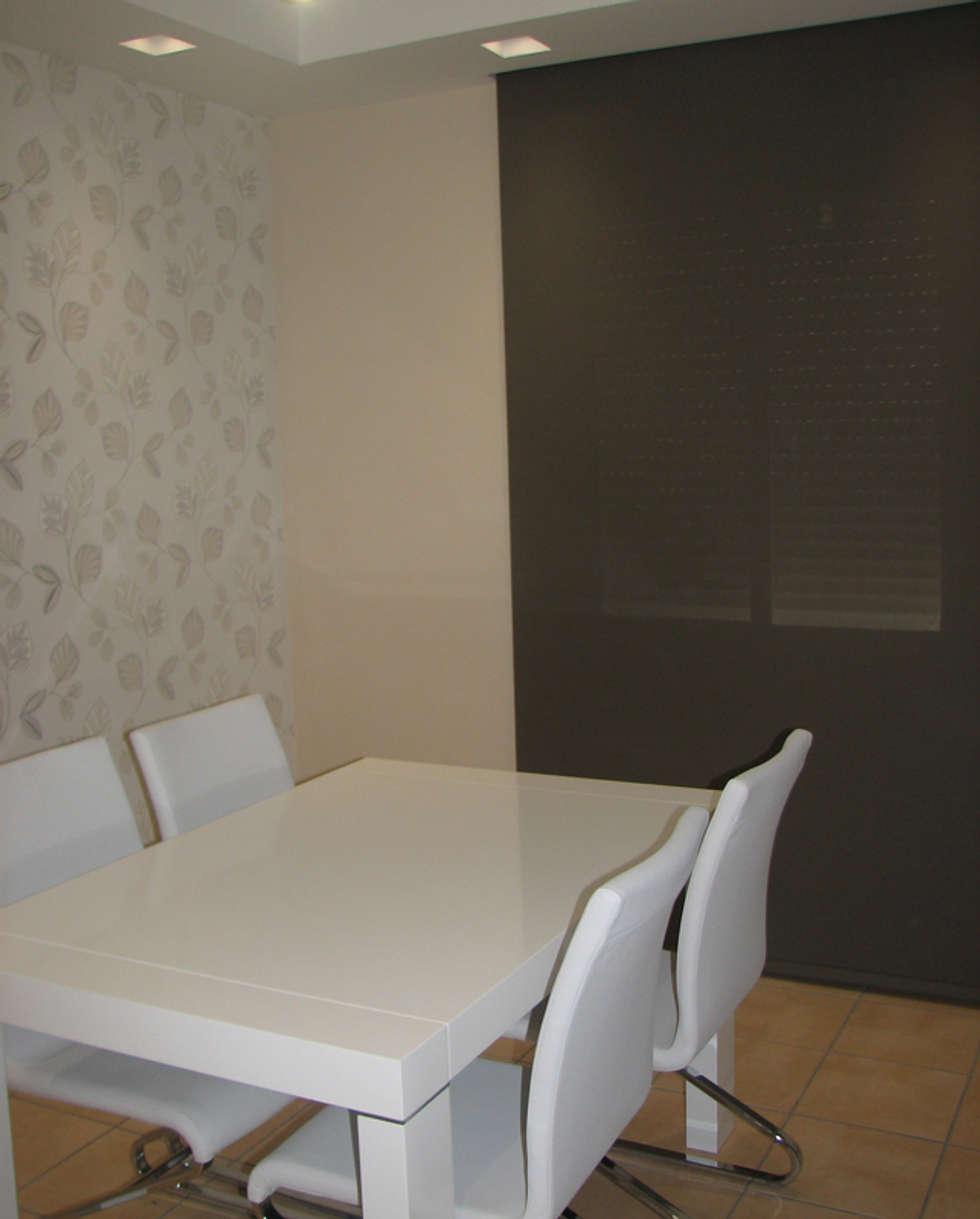 Fotos de decoraci n y dise o de interiores homify - Papel pintado salones modernos ...
