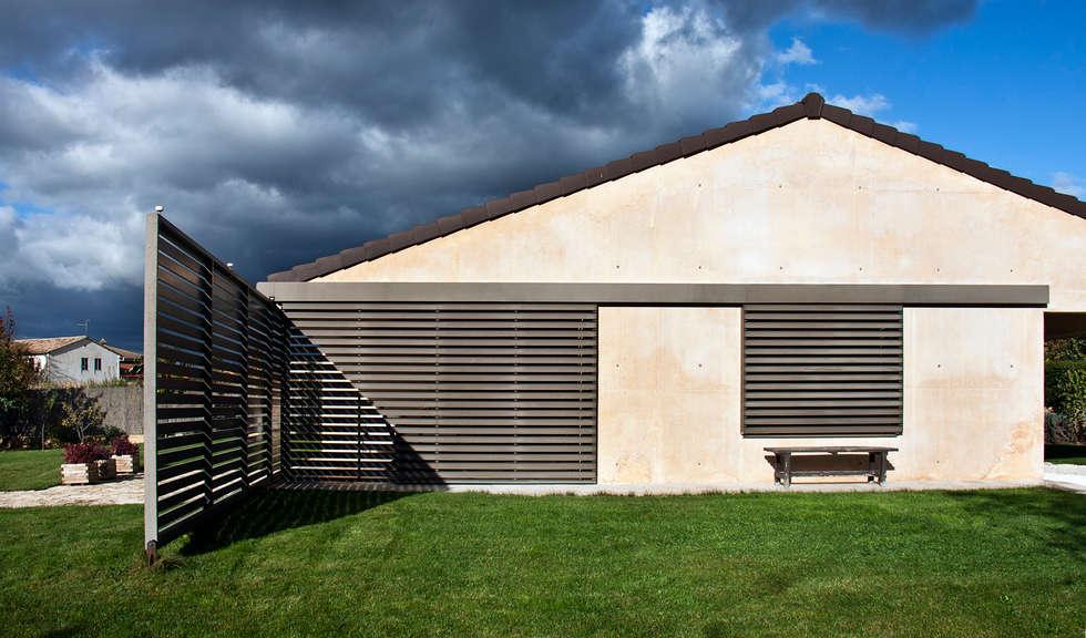 Casas minimalistas por Ignacio Quemada Arquitectos