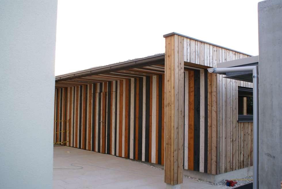 Doppelgarage modern holz  Wohnideen, Interior Design, Einrichtungsideen & Bilder | homify