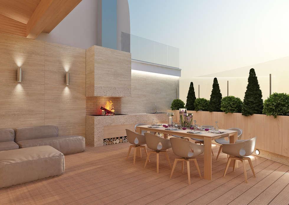 Interior design ideas architecture and renovating photos for Terrazas para patios