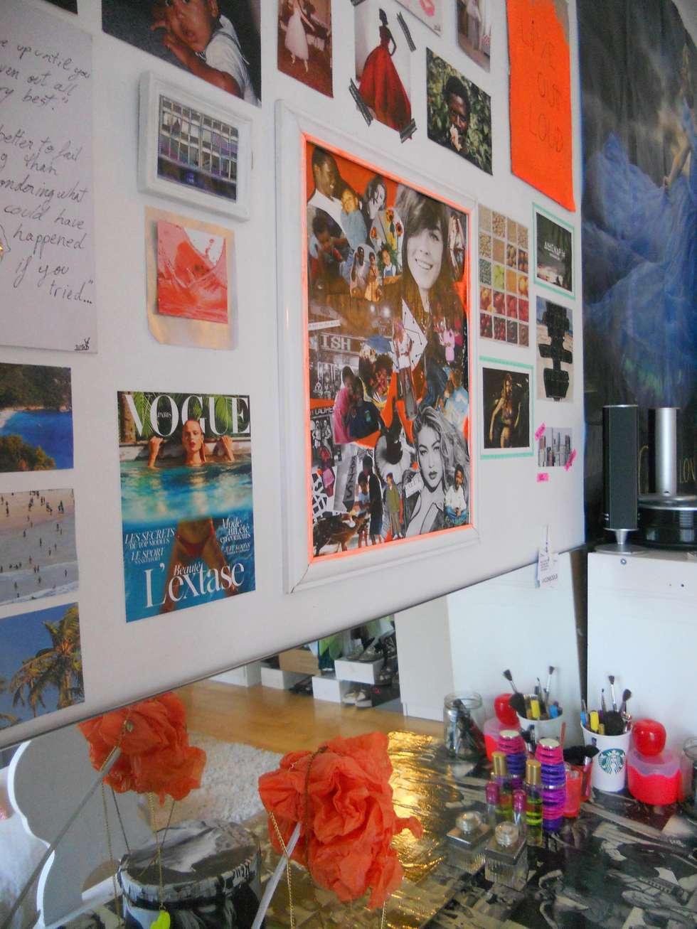 perspective sur les photos: Chambre de style de style eclectique par Sylviane Gestalder