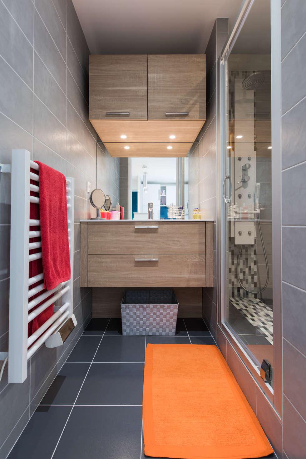 Merveilleux Banheiros Ecléticos Por LA CUISINE DANS LE BAIN SK CONCEPT