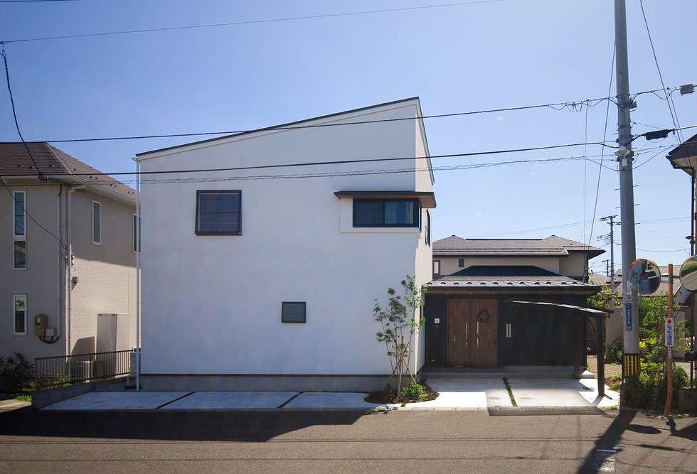 外観: 株式会社ブレッツァ・アーキテクツが手掛けた家です。
