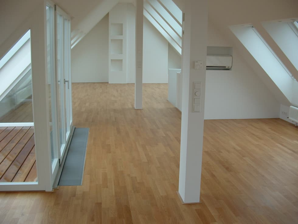 Fußboden Schlafzimmer ~ Parkett: moderne schlafzimmer von design am fussboden jörg