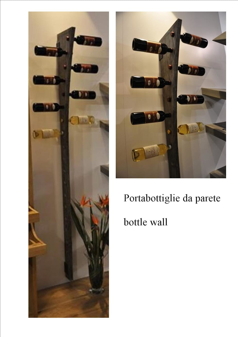Idee arredamento casa interior design homify - Portabottiglie da parete ikea ...